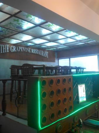 The Grapevine : top level seating