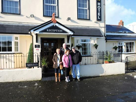 The Belfray Country Inn: In front of the Belfray