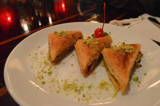 Anatolia Authentic Turkish Restaurant : Baklava