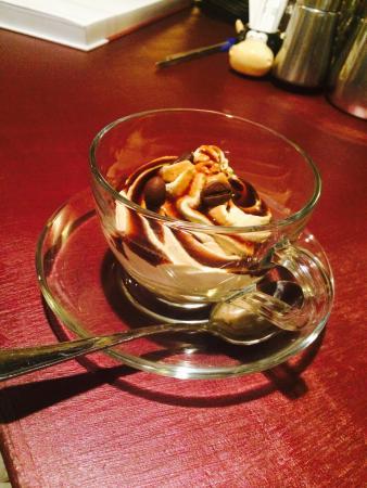 Taverna Dei Servi : Bavarese al caffè