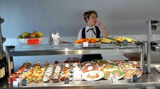 Chieri, Italy: self-service