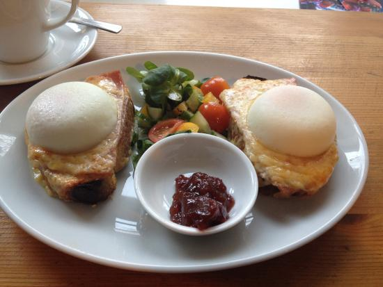 Lovegrows: Croque Madame with perfect poached eggs