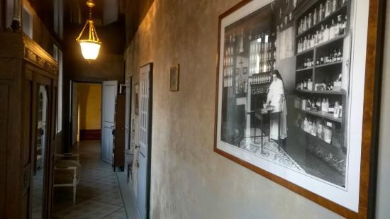 Chateau de la Marjolaine : Un des couloirs du Château