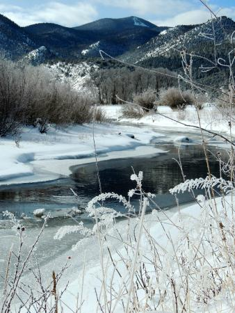 Amalia, NM: the river on the property