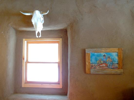 Amalia, NM: adobe walls