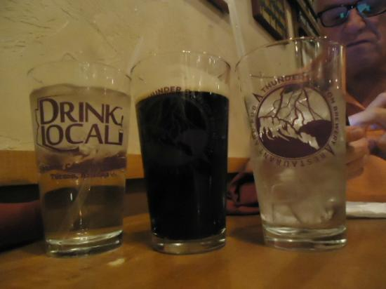 Thunder Canyon Brewery: Blackout Stout, DRINK LOCAL!