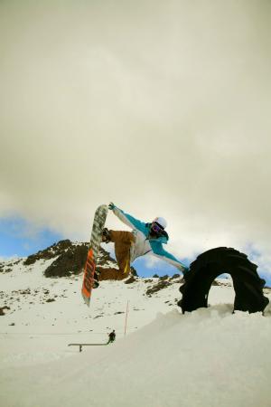 Rainbow Ski Area : Tyre