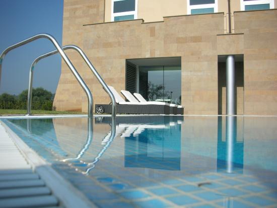 A Point Arezzo Park Hotel: Piscina esterna