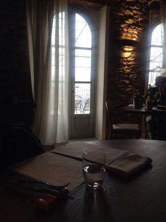 Osteria Veglio : Vista dal tavolo