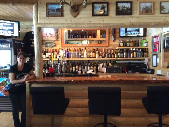Trout Creek, MT: Lakeside Motel and Resort - Rumors Lounge a great spot to party with a friend (s)!!!