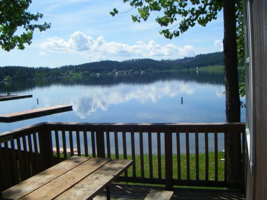 Valley, WA: Deck View-Cabin 6