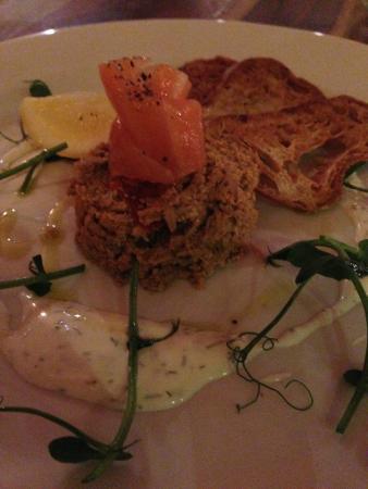 Crown Inn: Wonderful food served in the restaurant