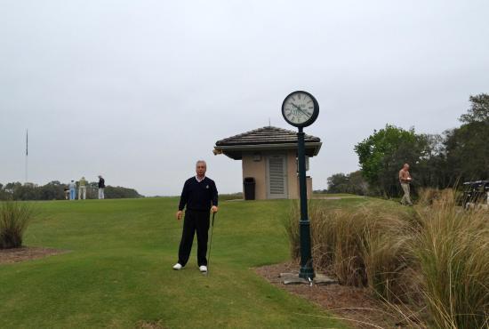 Grand Cypress Golf Club: Lo starter alla buca n. 1