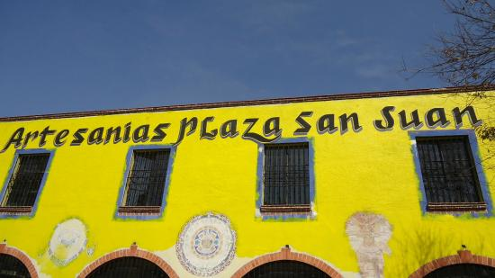 Artesanias Plaza San Juan: fachada do local