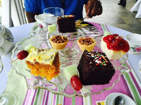 Chatters Tea Room : Second course ��