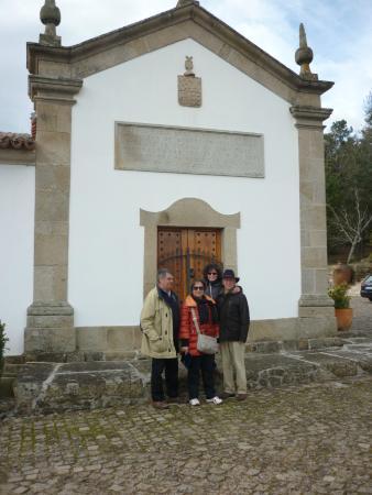 Casa de Samaioes Rural Hotel : Eu, minha mulher, irmã e cunhado