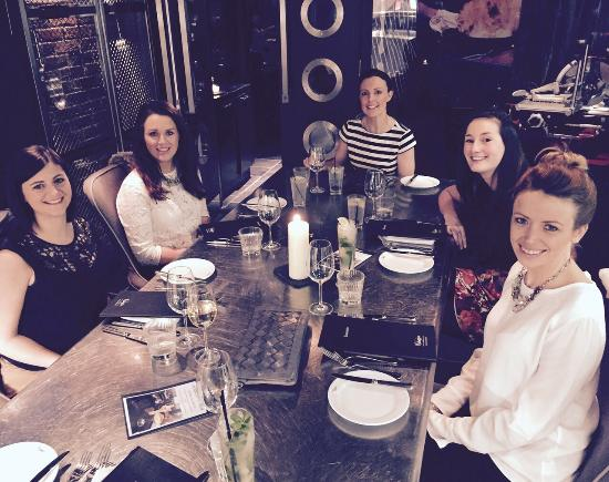 Brasserie and Bar at Malmaison - Liverpool: Lovely evening x