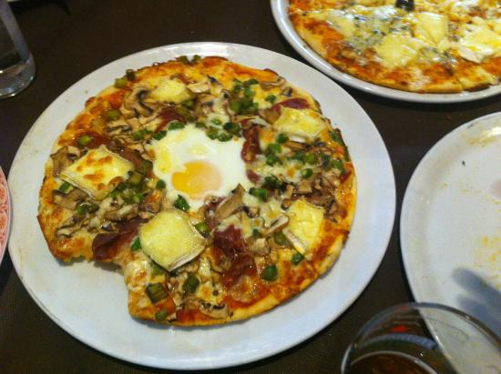 Restaurante Tito: Pizza.