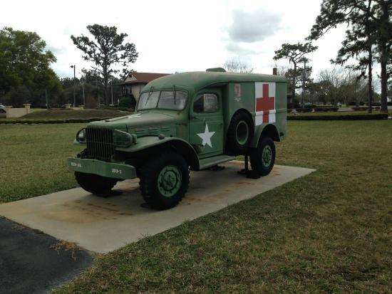 Camp Blanding Museum and Memorial Park: U.S. Dodge 3/4 ton 4-wheel drive ambulance; 1942-1944.