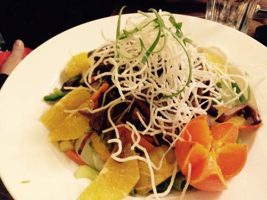 The Rancliffe Arms: Crispy Duck with crunchy Noodles