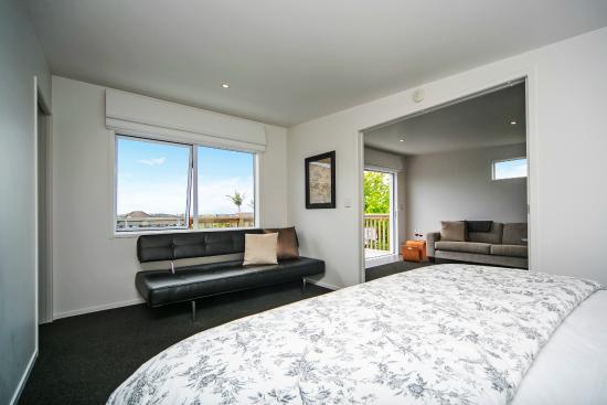 Kohimarama, Новая Зеландия: Seaview Apartment Bedroom