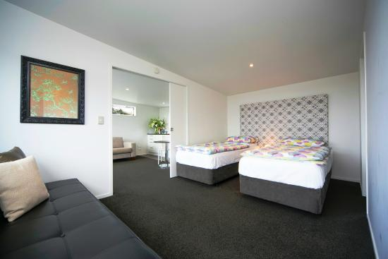 Kohimarama, New Zealand: Seaview Apartment 2 Single Beds