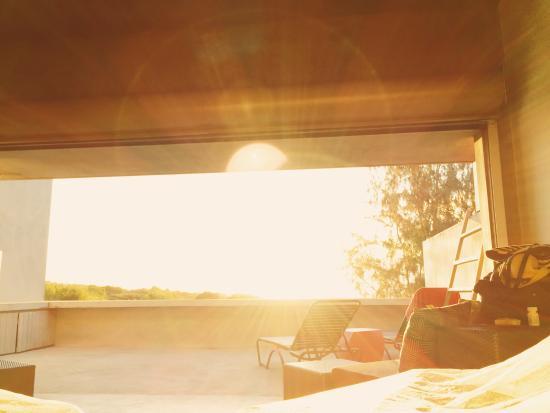 Hix Island House : Sunrise from Casa Solaris