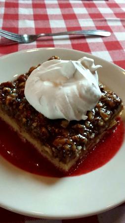 American Flatbread: Toscakaka dessert