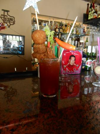 La Palapa Fine Eatery & Saloon: and a few not on the menu drinks for a texas sized hangover