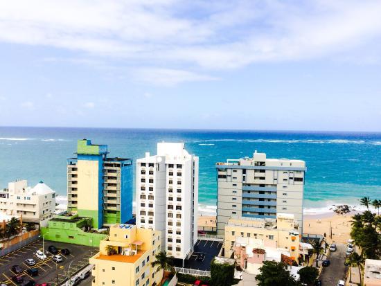 Best Western Plus Condado Palm Inn & Suites: Ocean view