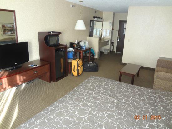 Kelly Inn Fargo : all one room