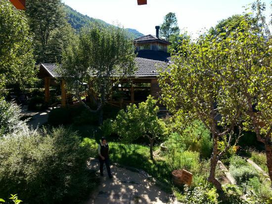 Peumayen Lodge & Termas: Restaurante