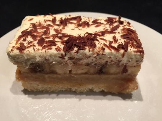 Birch and Perch Coffee Shop: Best ever Banofee slice.
