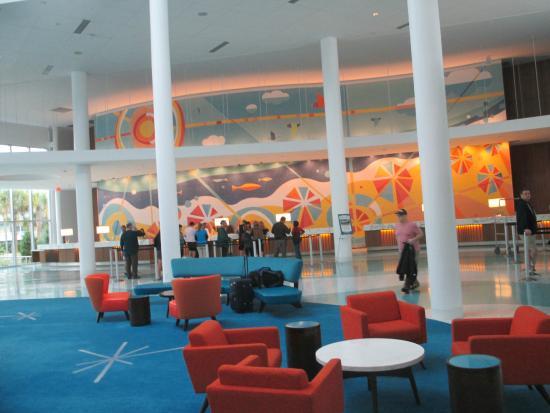 Retro design in room picture of universal 39 s cabana bay for Design hotel orlando