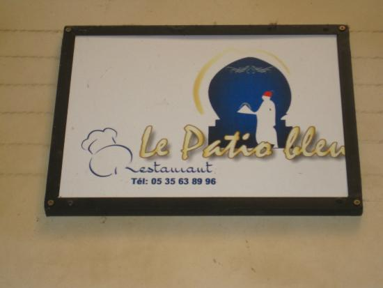 Le Patio Bleu