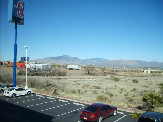 Motel 6 Benson: View out room window
