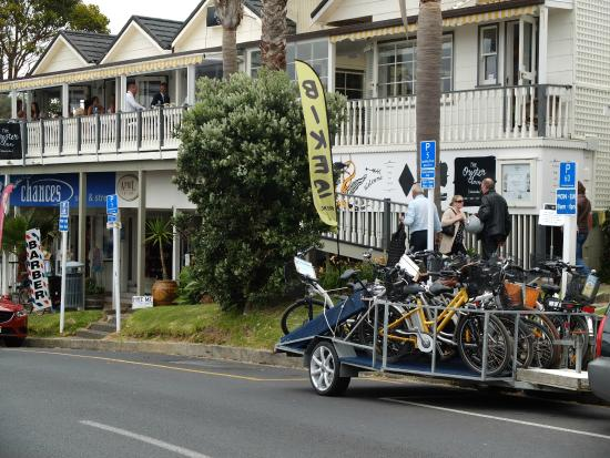 EcyclesNZ Bike Rentals: we Bring your party anywhere with our biketrailers 19 bikes per run