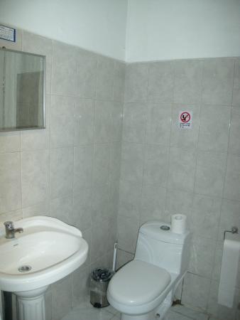 Hotel Paris Londres: Baño privado de la habitacion 36