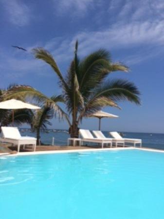 Mancora Marina Hotel: Pool