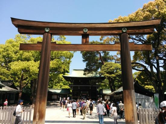 The gate - Picture of Meiji Jingu Shrine, Shibuya - TripAdvisor