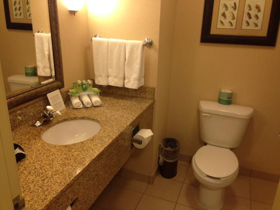 Holiday Inn Express Hotel & Suites Fairbanks: bathroom