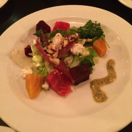 One Thirty One East: beet salad