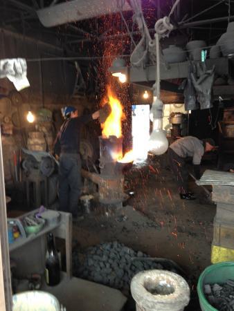 Morioka Handi-Works Square: iron casting, Morioka Handiworks Square