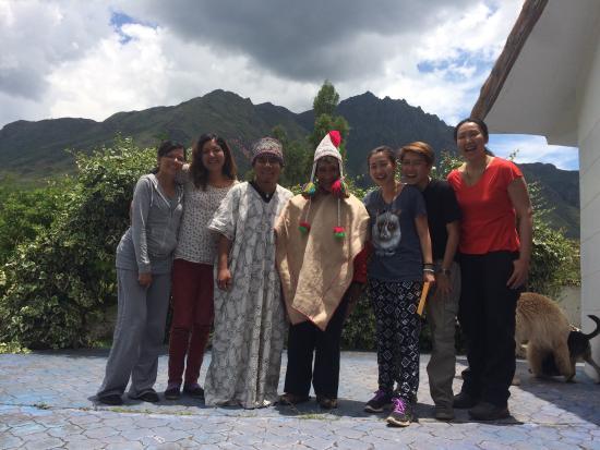 Etnikas Ayahuasca Retreats: Us with our shamen and Betty