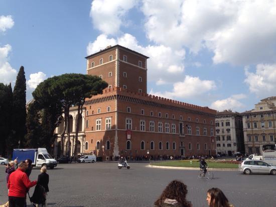 Palazzo Venezia: Vista palazzo