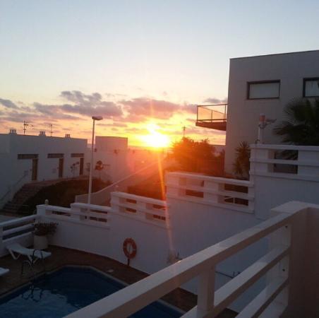 Apartahotel Vistamar: Aussicht Morgens vom Balkon aus