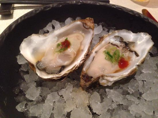 Chi : Oysters priced at 40kr each