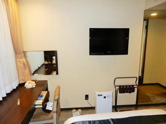 Hotel Riverge Akebono: プラズマイオン加湿器常備