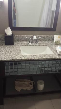 Holiday Inn Hotel & Suites San Antonio Northwest: sink and vanity area