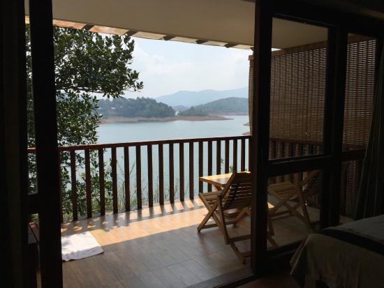 View from Romantic Sky Villa.